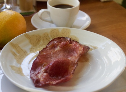 A much leaner option for that great bacon taste. If you like Canadian Bacon, this is a great substitute. Yes, it will satisfy a ham craving as well...